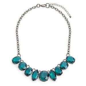 Jewelmint Mad World Chunky Gemstone Necklace
